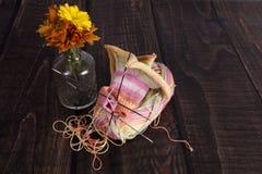 knitting stock foto's