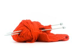 Knitting Royalty Free Stock Photos