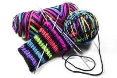 knitting stock foto