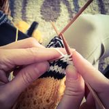 knitting stock fotografie
