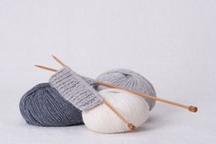 Knitting Accessories. Yarn Balls. Knitting Accessories, Kit. Yarn Balls Stock Images