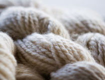 Knitting background Royalty Free Stock Photos