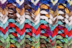 Knitting Background Royalty Free Stock Photo
