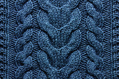 Knitting background texture Royalty Free Stock Images