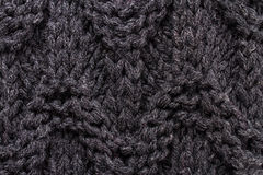 Knitting background texture dark color. High resolution Knit woo Stock Photos