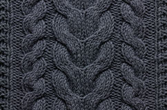 Knitting background texture Royalty Free Stock Photos