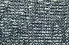 Knitting background texture, gray color Royalty Free Stock Photo