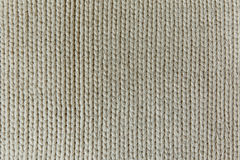 The Knitting Background with White Stitch.Handmade Texture Stock Photography