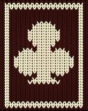 Knitting clubs poker card, vector Stock Photos