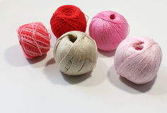 Knitting colorful Royalty Free Stock Photography