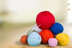 Knitting craft Royalty Free Stock Photography