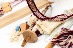 Knitting equipment Royalty Free Stock Image
