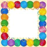 Knitting frame Royalty Free Stock Photo