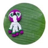 Knitting garland Royalty Free Stock Photo