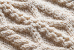 Knitting Handwork Texture Stock Image