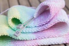 Knitting hobby Royalty Free Stock Images