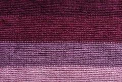 Knitting with horizontal stripes - background Royalty Free Stock Photos