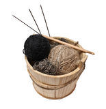 Knitting Kit Stock Photos