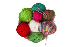 Knitting kit Stock Images