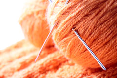 Knitting. Knitted. Stock Image