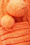 Knitting. Knitted Stock Photography