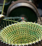 Knitting machine Stock Photography