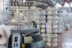 Knitting machines Stock Images