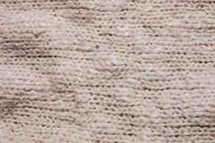 Knitting macro Royalty Free Stock Photos