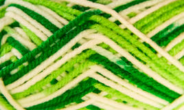Knitting material Royalty Free Stock Images