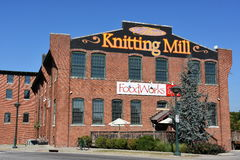 The Knitting Mill in Chattanooga, Tennessee royalty free stock images
