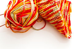 Knitting Royalty Free Stock Photography