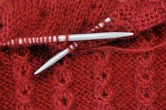 Knitting Needles Stock Image