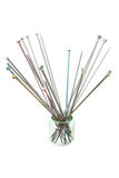 Knitting Needles Stock Photography