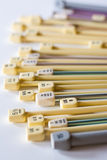 Knitting Needles Royalty Free Stock Images