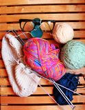 Knitting. An old pastime that is always current Stock Images