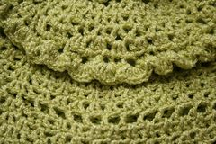 Knitting pattern Stock Photos