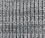 Knitting pattern. Beautiful background with texture striped knit pattern Stock Image