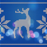 Knitting pattern Stock Photography