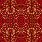Knitting pattern Stock Photo