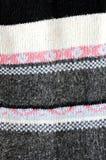 Knitting pattern Stock Images