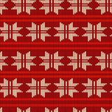 Knitting Pattern Royalty Free Stock Image
