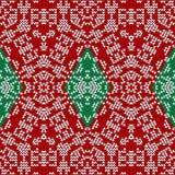 Knitting pattern Royalty Free Stock Photo