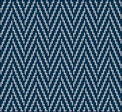 Knitting pattern sweater line Royalty Free Stock Image