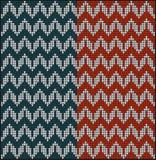 Knitting pattern sweater Royalty Free Stock Photo