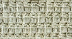 Knitting pattern Stock Images