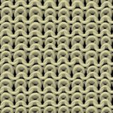 Knitting seamless generated texture Stock Image