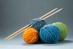 Knitting Set Royalty Free Stock Images