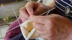 Knitting socks Royalty Free Stock Photos