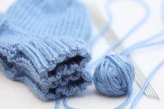 Knitting a socks Stock Image