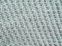 knitting Structuur en patroon van stof royalty-vrije stock afbeelding
